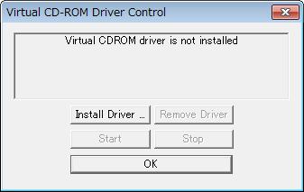 「Install Driver」をクリック