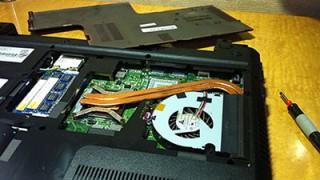 HDD故障の原因となる「熱」を下げるためにパソコンの中を掃除しよう