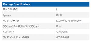 「Package Specifications」の「T」を参照。この場合は100°Cが限界温度