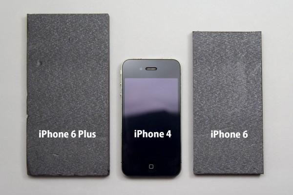 3モデルのサイズ比較