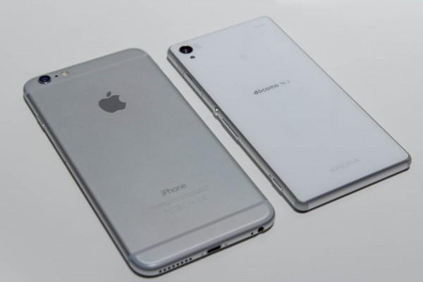 質感については、アルミ素材のiPhone 6 Plusのほうが好み