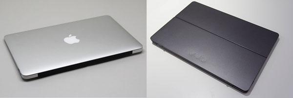 新生VAIO ZとMacBook Airどっちを選ぶ?両モデルのスペックと使い勝手を比較