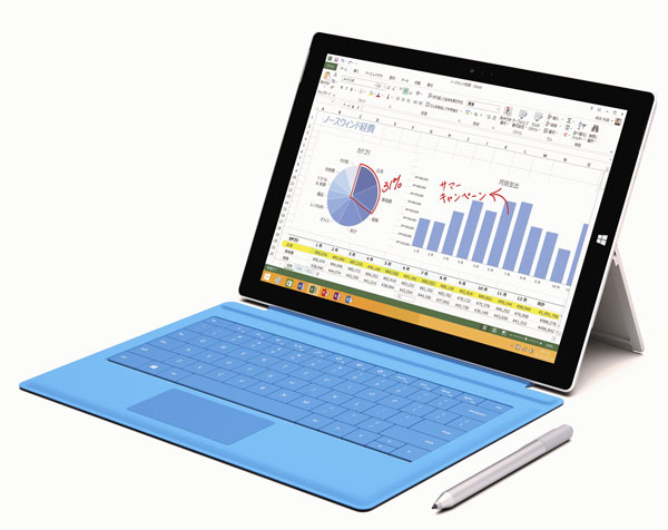 Surface Pro 3は写真の確認や文書の閲覧、作成に向いている