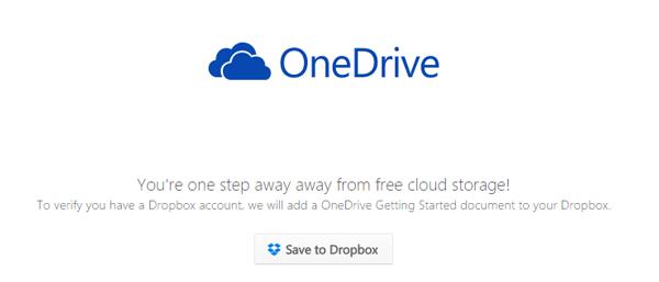 「Save to Dropbox」をクリック