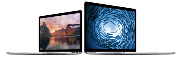MacBook Pro(Early 2015)のCPUは28W版Core i5-5257U/i5-5258U/Core i7-5557U!