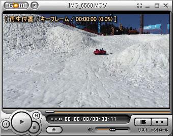 iPhone 6 Plusで撮影した動画(MOV形式)を使用