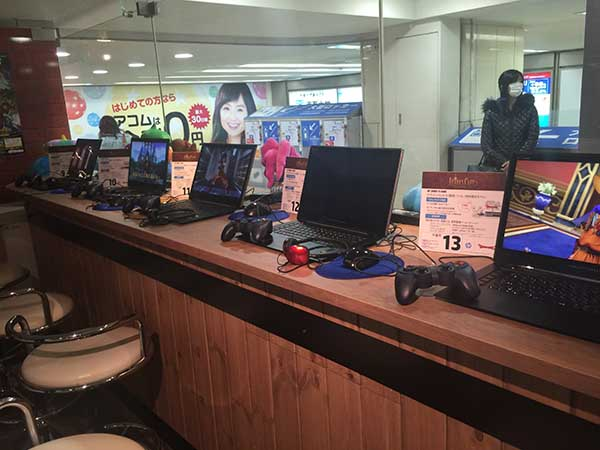 日本HPのゲーミングノートPC「HP OMEN 15-5000」がズラリ