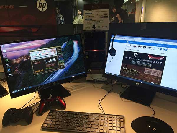 Core i7-4790K+GeForce GTX 760搭載の「ENVY 700-560jp/CT」。ドラクエベンチのスコアは「17880」の「すごく快適」