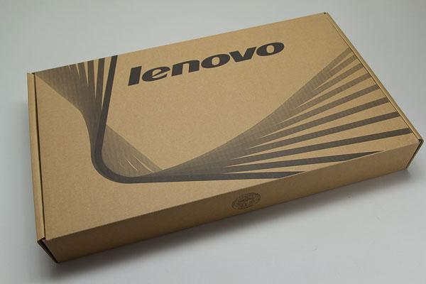 Lenovo G500が梱包されていた箱