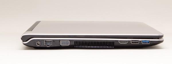 「LuvBook B」の右側面。