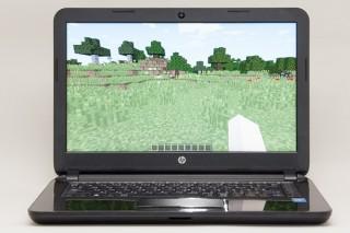 HP 14-r200でマインクラフトをプレー!Core i3-4005Uでどこまで快適に動くのか?