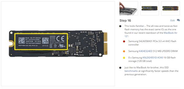 """iFixitのMacBook Air 13""""分解記事"""