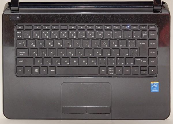 HP 14-r200のキーボード