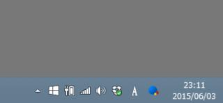 通知領域に表示される「Windows10を入手する」のアイコンやメッセージを消去する方法