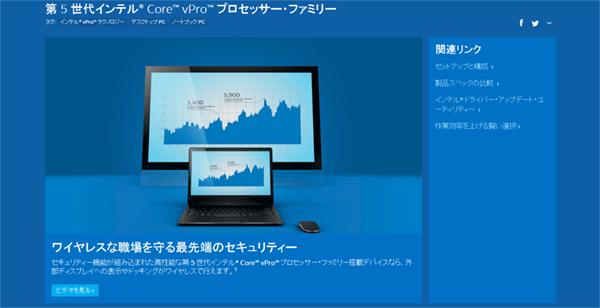 Core vProファミリー