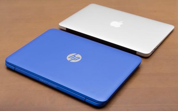 HP Stream 11 & MacBook Air