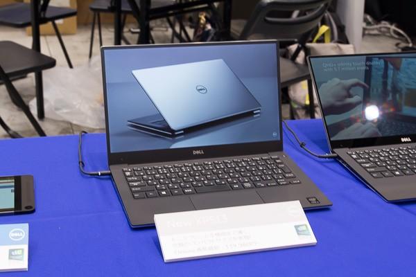 13.3型の液晶ディスプレイを採用した「New XPS 13 Graphic Pro」