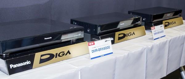 全自動DIGA3モデルも展示されていました