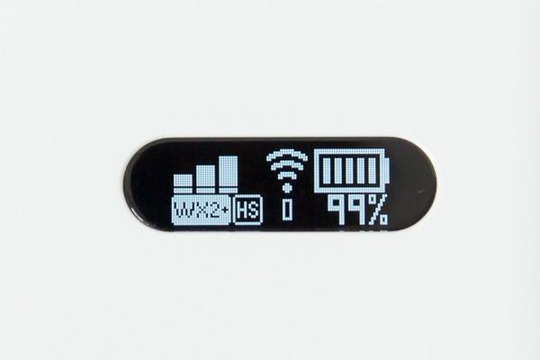 「ハイスピードモード(WiMAX2)」の状態
