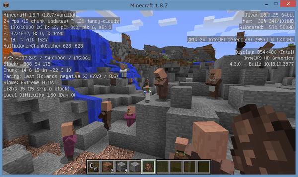 入り組んだ地形でキャラクターが多くなると、20~25FPSまで低下します。ビデオ設定の調整が必要となるでしょう