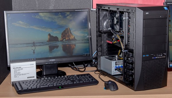 Radeon R9 Fury X搭載の「GALLERIA ZKR」