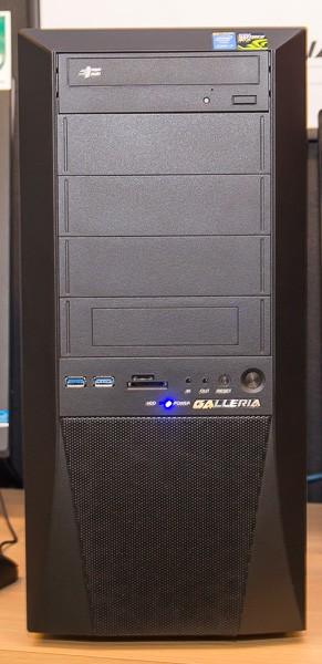ATXミドルタワーのKTケースを採用しています