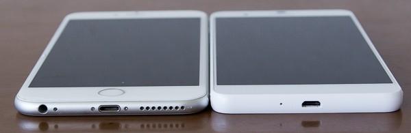 厚さはiPhone 6 Plusのほうが0.4mm薄くなっています