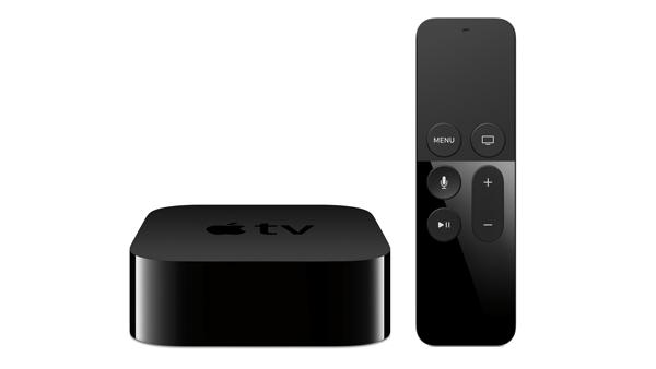 アップルの「Apple TV」新モデル。発売は10月下旬で、国内価格は未定