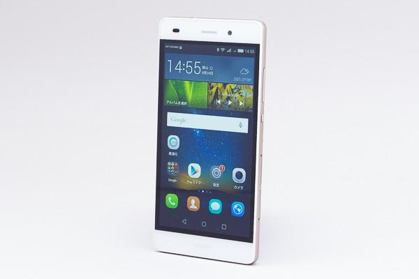 安くて速いSIMフリースマートフォン「P8lite」