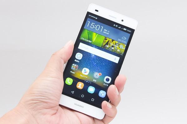 ファーウェイ・ジャパンの5型SIMフリースマートフォン「Huawei P8lite」