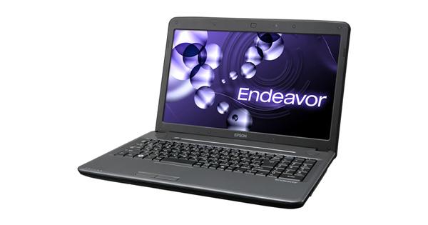 2011年10月に発売されたエプソンダイレクトの15.6型ノートPC「Endeavor NJ5500E」