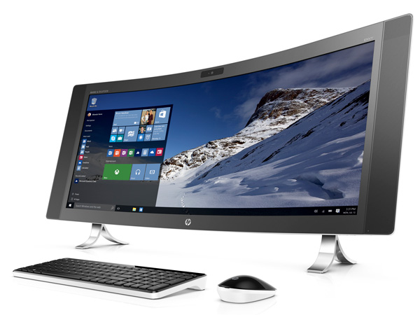 「HP ENVY 34 Curved All-in-One」