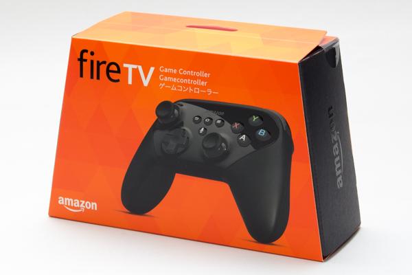 Fireシリーズ向けに最適化された純正ゲームコントローラー