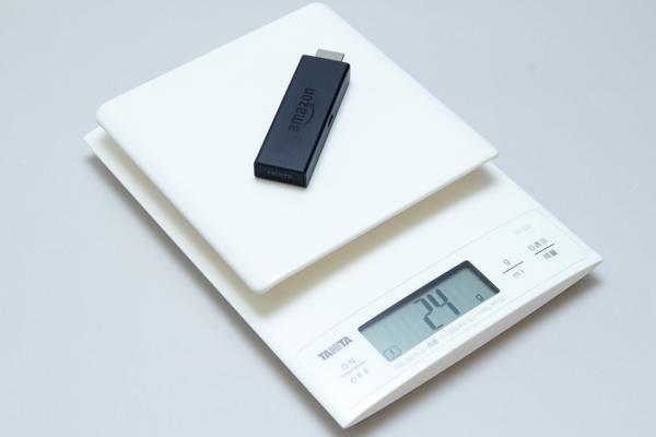 重量は実測で24gでした