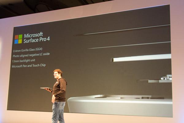 新開発の「マイクロソフト ペン&タッチ チップ」によって、ペン入力の快適さが向上しています