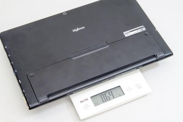 重量は実測で864g