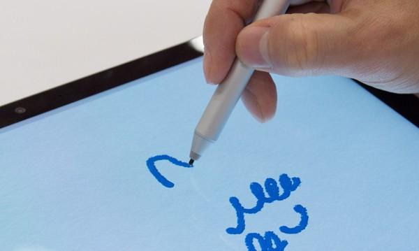 筆圧感知は1024段階に対応。パフォーマンスの向上により、書き味もなめらかになっています