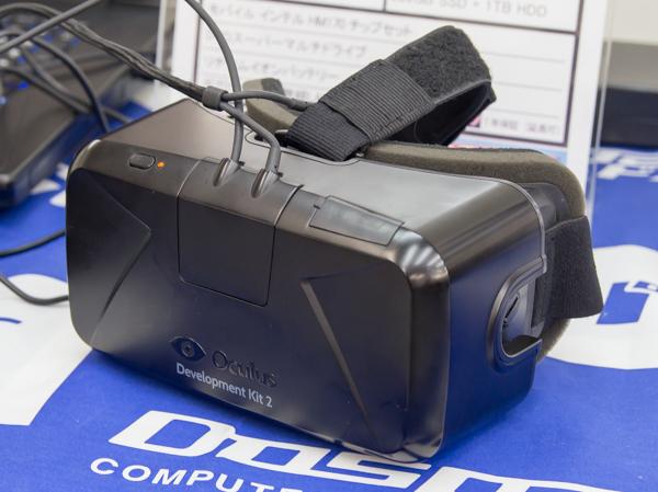 2016年3月発売の「Oculus Rift」 ※写真は開発者向けの「Oculus Rift DK2(Development Kit 2)」