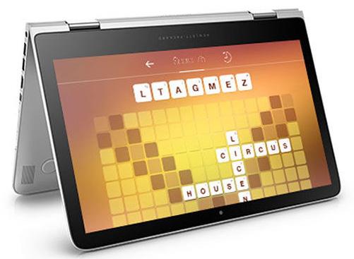 15.6型の液晶ディスプレイを搭載した「HP Spectre 360-15t」。4K対応モデルも用意