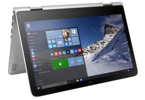 2560×1440ドットの有機ELディスプレイを採用する「HP Spectre-13t」