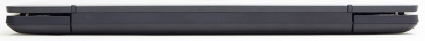 最厚部となる本体背面は27.4mmです