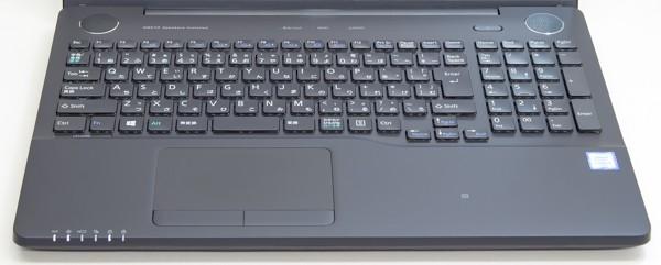 完成度の高いキーボード