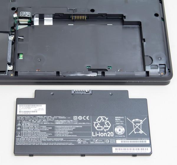 これは内蔵バッテリー