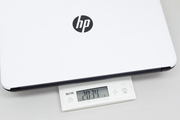 重さは実測で2.034kg