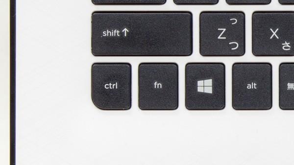 FnキーとF1~12キーを同時に押すことで、ファンクションキーとして利用できます