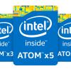 新ステッピングのAtom x5-Z8330/x5-Z8350/X5-8550/x7-8750が登場。Cherry Trail世代がプチリニューアル