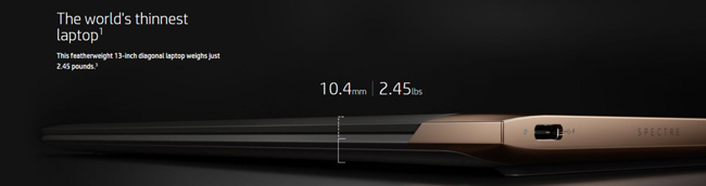 高さはわずか10.4mmしかありません。ちなみにMacBook Airは最厚部で17mmです