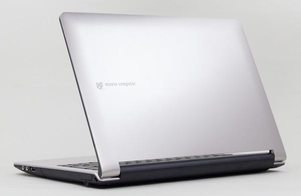 格安パソコンのなかではワンランク上の性能を持つLuvBook Bシリーズ(シルバー)