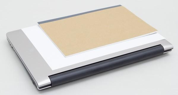 A4サイズ(用紙)とB5サイズ(ノート)とのサイズの違い
