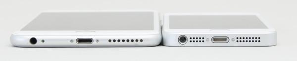 厚さはiPhone 6 Plusのほうがわずかに薄い